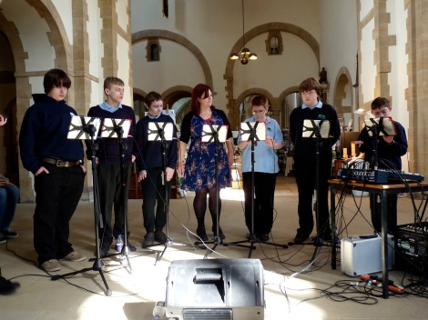 iPad Band at Portsmouth Cathedral